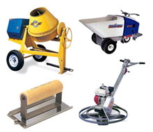 Concrete tool rentals in the NW Ohio and SE Michigan metro areas