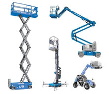 Forklift, boom lift, scissor lift, and aerial lift rentals in the NW Ohio and SE Michigan metro areas