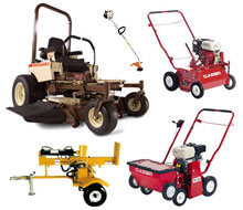 Lawn & garden equipment rentals in the NW Ohio and SE Michigan metro areas