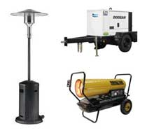 Generator rentals in the NW Ohio and SE Michigan metro areas