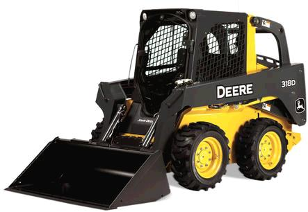 Where to find JOHN DEERE 317 318 SKIDLOADER in Toledo