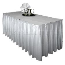 Where to find 14  TABLE SKIRT, WHITE in Toledo