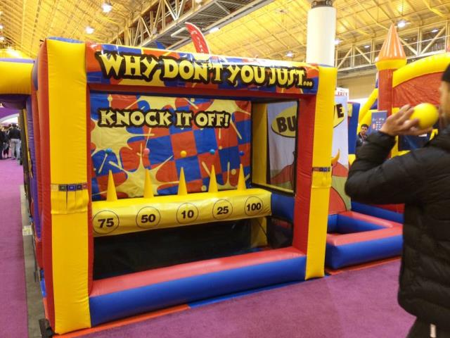 Where to find KNOCK IT OFF INFLATABLE in Toledo
