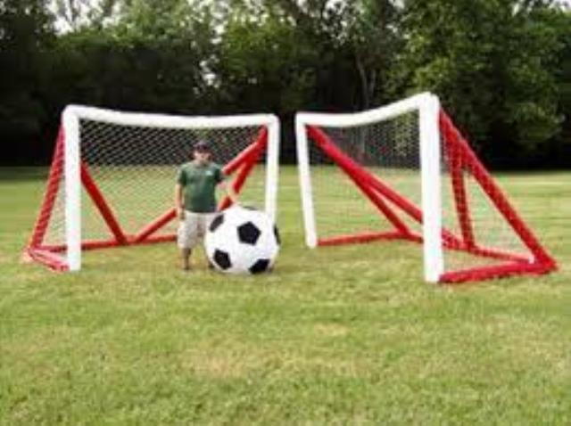 Monster Soccer 7 Foot X10 Foot Inflatable Goal Rentals