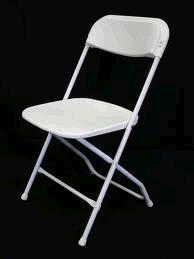 Where to find WHITE FOLDING CHAIR in Toledo