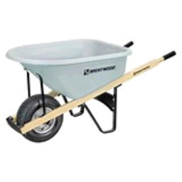 Where to find WHEELBARROW, 10CU POLY. 6  TIRE in Toledo
