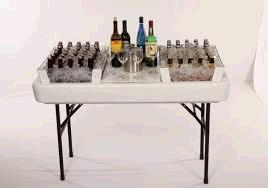 Where to find SMALL CHILL N FILL TABLE WHITE 4 in Toledo