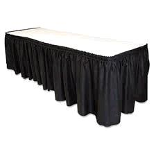 Where to find TABLE SKIRT, BLACK ONE FOOT in Toledo