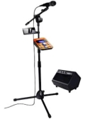 Rental store for Karaoke System, w mic stand and speaker in Toledo OH