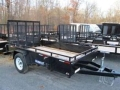 Rental store for 6X12 BLACK SURETRAC TRAILER, 3500 GVWR in Toledo OH