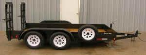 Where to find DUAL AXLE LIGHT EQUIPMENT TRAILER in Toledo