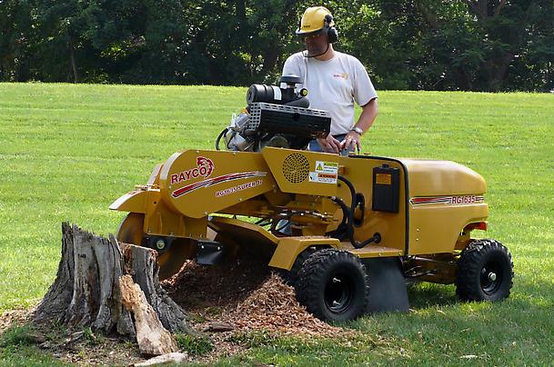 Where to find 25-27HP STUMP CUTTER w TRAILER in Toledo