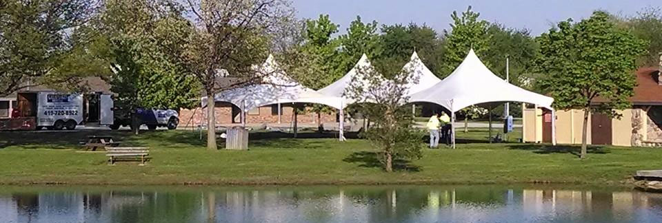 Tent rentals in the NW Ohio and SE Michigan metro areas