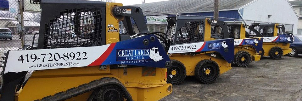 Earthmoving equipment rentals in the NW Ohio and SE Michigan metro areas